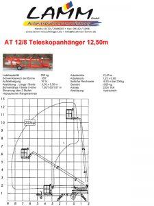 Datenblatt Teleskop-Anhänger 12,5m
