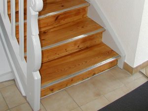Restaurierung von Treppen