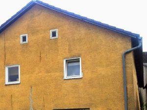 Malerarbeiten Fassade vorher