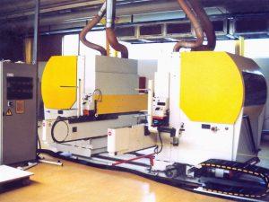 Maschine mit Stahlbeschichtung